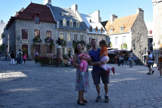 The French Quarter of Quebec City!