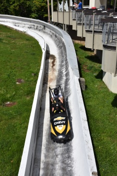 The Olympic Bob sled ride at Lake Placid!